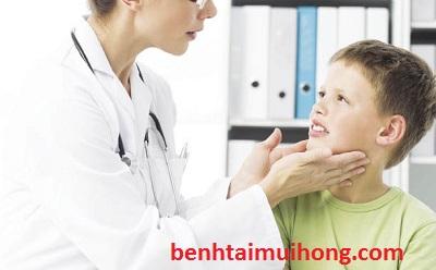 Tổng quát về bệnh viêm họng cấp ở trẻ nhỏ